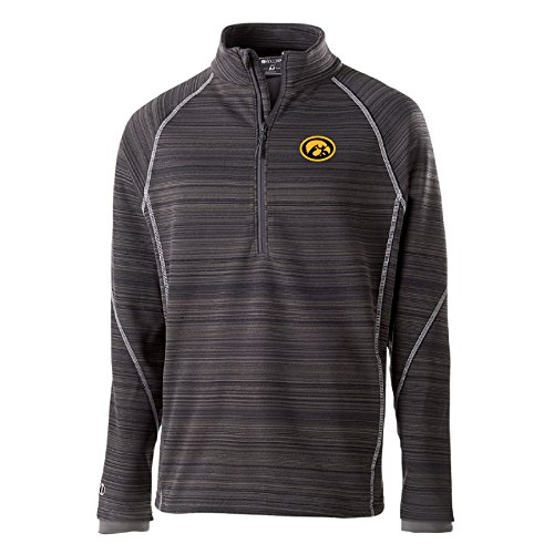 Ouray Sportswear NCAA Gonzaga Bulldogs Deviate 1/4 Zip Jacket, 2X, Carbon ()