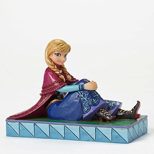 Jim Shore Disney Frozen Be Daring Anna Personality Pose Figurine 4050407 New