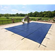 25' X 45' In-Ground Pool Safety Cover - Blue Mesh