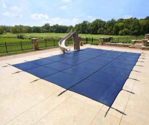 12' X 24' In-Ground Pool Safety Cover - Blue Mesh