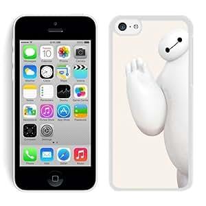 Big Hero 6 Baymax Say Hello White Best Buy Customized Design iPhone 5C Case