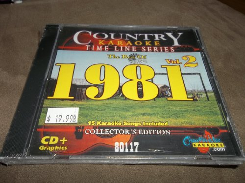Charbuster CB80117 Country hits of 1981 Vol. 2 karaoke (Charbuster Karaoke)
