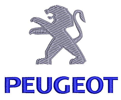 9130 Natshop2000 Peugeot Auto Sweat /à Capuche zipp/é avec Logo brod/é de qualit/é sup/érieure