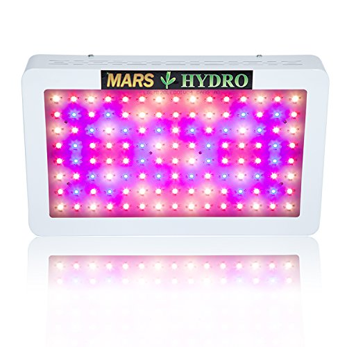 MarsHydro Mars600 Led Grow Light with Veg/Bloom Spectrum for Hydroponic Indoor Greenhouse/Garden Plant Growing, 272W True Watt Panel
