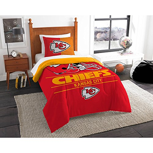 Northwest NFL Kansas City Chiefs Draft Twin Bedding Comforter Set