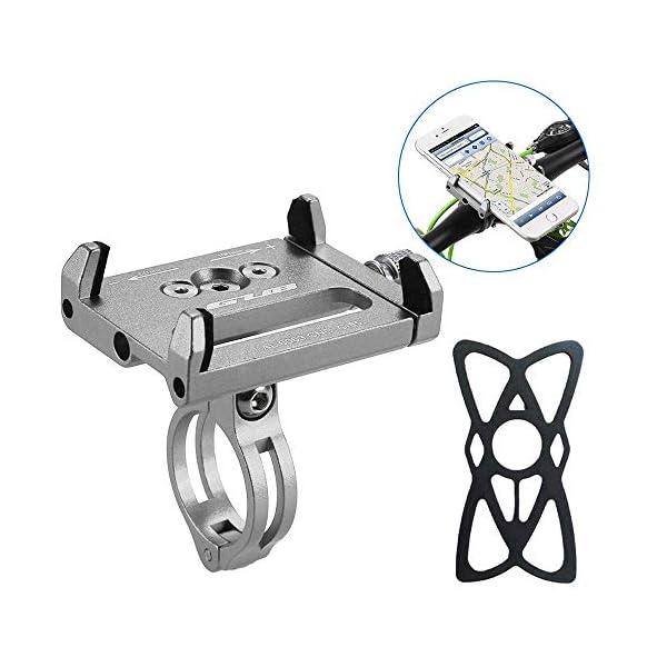 HOOMBOOM Porta Telefono Bici GUB Mountian Bici Telefono Montare Universale Regolabile Bicicletta Cellulare GPS Culla… 1 spesavip