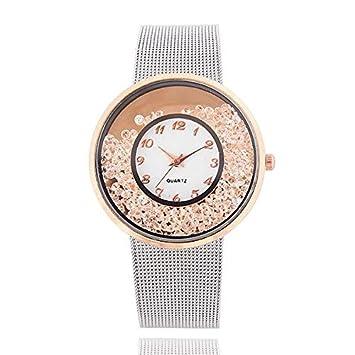 HTRHHG Marca de Moda de Lujo Estilo Elegante Relojes de Pulsera de Las Señoras Reloj de