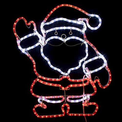 Brilliant Brand Lighting 30 Inch Waving Santa LED ()