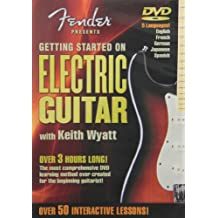 Fender DVD Package - Getting Started On Electric Guitar