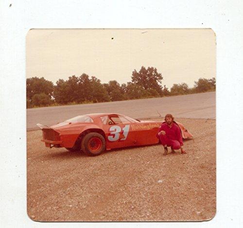 - Dick Harrington-#31-EARLY-Camaro-Race Car-Color-Photo-1981