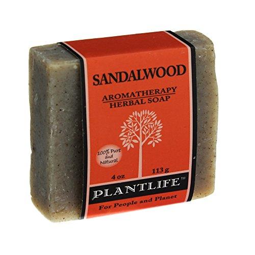 Plantlife-Sandalwood-Aromatherapy-Herbal-Soap-4-OZ-Pack-of-5-Vitaminder-Power-Shaker-Bottle-20-oz-Bottle