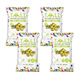 Taali Tangy Turmeric Water Lily Pops (4-Pack) – Taste with Benefits | Protein-Rich Roasted Snack | Non GMO Verified | 2.3 oz Multi-Serve Bags For Sale
