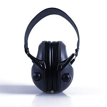 YTBLF Auriculares De Caza Electrónicos con Protección Auditiva Orejeras Orejeras con Protección Auditiva Amplificada Antirruido