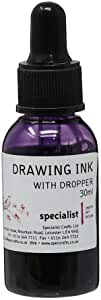 Specialist Crafts Drawing Inks 30ml Violet