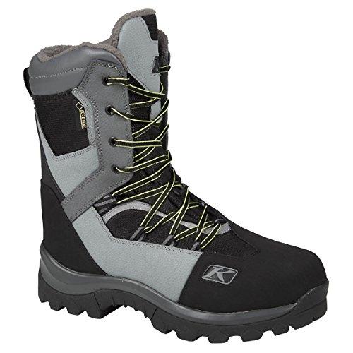 Klim Adrenaline GTX Men's Snocross Snowmobile Boots Boots - Dark Gray Size 9 by Klim