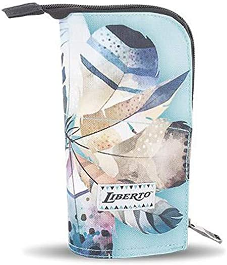 Estuche Portatodo Vertical Liberto Multicolor: Amazon.es: Oficina y papelería