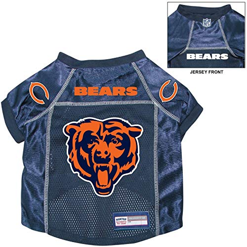 Chicago Bears Pet Dog Football Jersey Alternate XL
