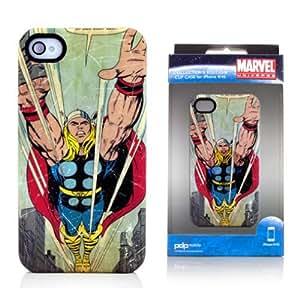 Marvel Carcasa de la carcasa icónica para Apple iPhone 4 / 4S Thor Antik