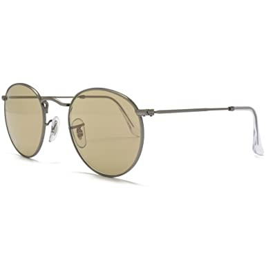 d58b3d905c Ray-Ban Sunglasses ROUND METAL (RB 3447 029 53 47)  Amazon.co.uk  Clothing
