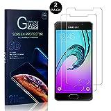 Galaxy A5 2016 Screen Protector, Bear Village® Tempered Glass Screen Protector [Lifetime Warranty], HD Screen Protector Glass for Samsung Galaxy A5 2016-2 PACK