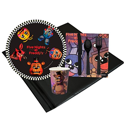 Forum Novelties Five Nights at Freddys Party Supplies Party Pack (8) ()