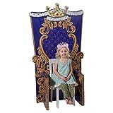 Child Size Medieval Kingdom Throne Party Decoration