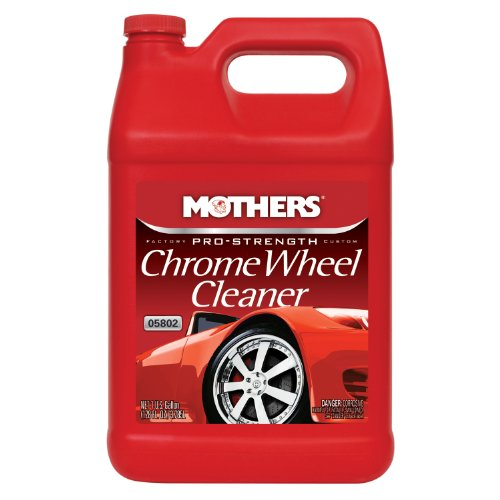 Mothers 05802-4 Pro-Strength Chrome Wheel Cleaner - 1 Gallon, (Pack of 4)