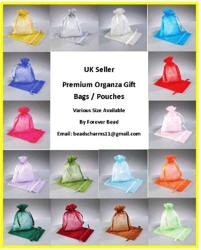 25 - bolsa de Organza - Varios colores - 15 x 22 cm de ...