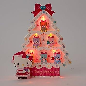 Amazon.com: Hello Kitty espumoso Árbol de Navidad w ...