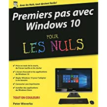 Premier pas avec Windows 10 pour les Nuls