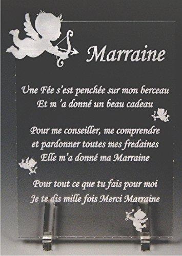 1 Poème Marraine Ange Spécialiste Des Cadeaux Parrain