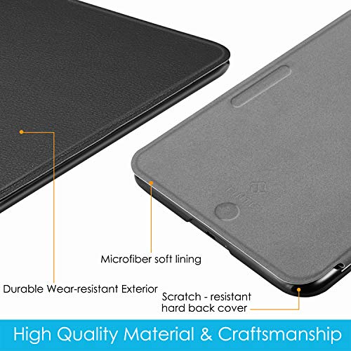 Fintie Case for All-New Nook Glowlight Plus 7.8 Inch 2019 Release, Ultra Lightweight Slim Shell Cover for Barnes & Noble Glowlight Plus 7.8 eReader (Not Fit Previous Gen 6 Inch 2015), Black