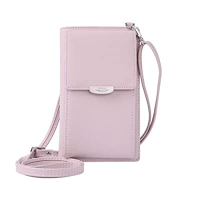 Liobaba Small Crossbody Bag Cell Phone Purse Wallet with Credit Card Slots for Women: Office Products