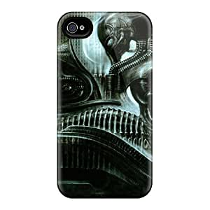 High Quality Shock Absorbing Case For Iphone 4/4s-hr Geiger Machine
