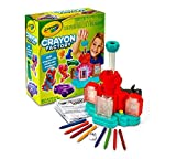Crayola; Crayon Factory; Pink; Art Tool; Electronic; Melt and Mold Crayon Bits into Custom Creations; Makes a Great Gift