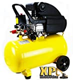Heavy Duty Air Compressor 125Psi Adjustable Pressure 3.5 Hp X 10 Gallon