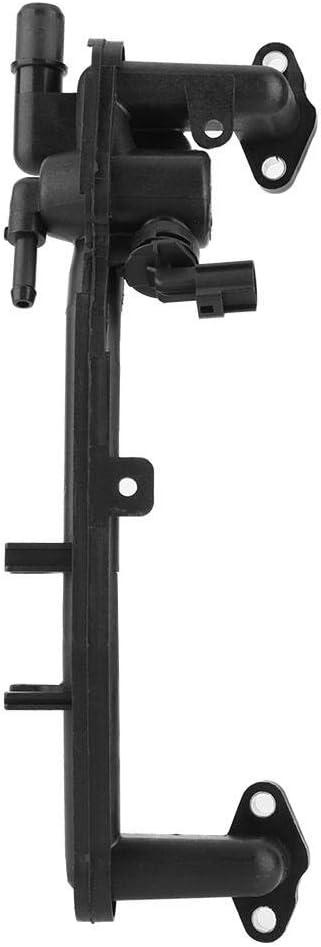 Heater Manifold Tube Coolant Flange with Sensor LR018273 for Range Rover LR4 Sport Qiilu Car Heater Manifold Pipe