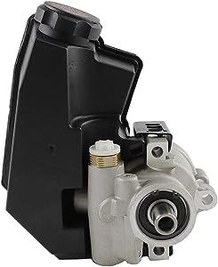Brand new DNJ Power Steering Pump w/Reservoir PSP1102 for 99-04 / Jeep Grand Cherokee Cu. 287 V8 SOHC - No Core Needed