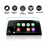 #9: 2017 2018 Honda CRV Trapezoid Tempered Glass Protector [Heat-Resistant] for CRV Special 7-Inch In-Dash Center Navigation Screen Display Lx Ex Ex-l Touring (7-Inch)