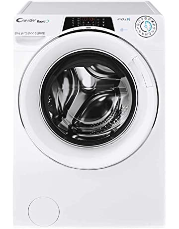 Candy Rapido RO16106DWHC7 Freestanding Washing Machine, WiFi connected, 10Kg Load, 1600rpm spin, White [Energy Class A+++]