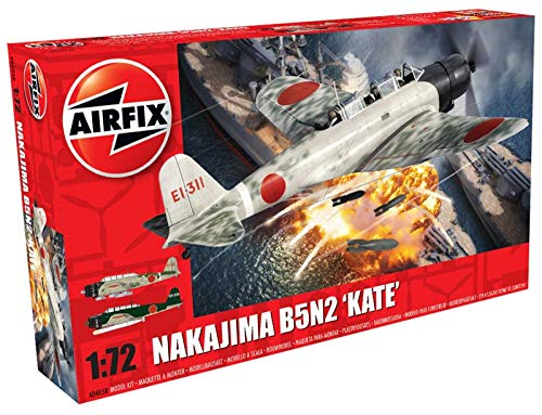 Airfix 1:72nd Scale WWII Nakajima B5N2 'Kate' Plastic Model Kit