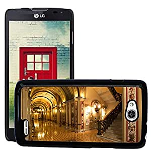 Hot Style Cell Phone PC Hard Case Cover // M00170680 Washington Dc Capitol Buildings Inside // LG Optimus L90 D415