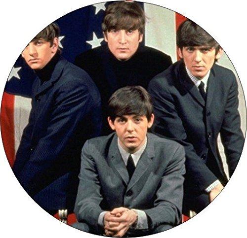 4コースターのセットのコルクBacking Beatles   B078Y9TJGS