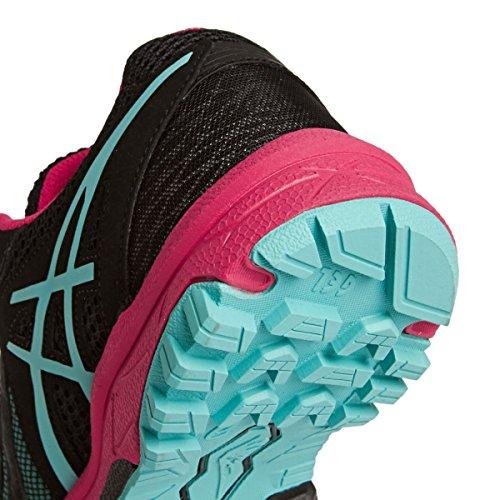 Asics Gel-fuji Aanval 5 Womens Loopschoenen - Ss16 Zwarte