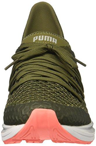 Puma Donna Ignite Illimitata Netfit Wn Sneaker Oliva Notte-pesca Nrgy