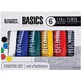 Liquitex Basics Acrylic Set 18ml 6/Pkg (Pack Of 1)