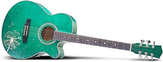 BAIYING-Guitarra Acústica ,Balada Guitarra 40 Pulgadas ...