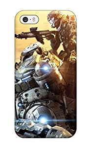Hot 2014 Titanfall Tpu Case Cover Compatible With Iphone 5/5s
