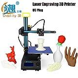 Creality3D CR - 8 2 in 1 Laser Engraving 3D Desktop Printer LCD Screen Display (CR - 8, 1)