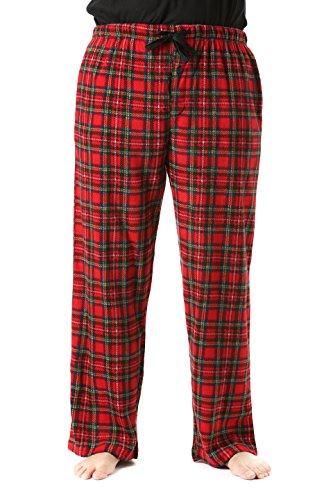 Pajama Trousers (#followme 45902-10-XXL Polar Fleece Pajama Pants for Men Sleepwear PJs)
